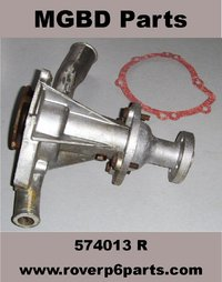 Fully reconditioned WATER PUMP with gasket, for the Rover P6 2000 & 2200 (LONG NOSE)