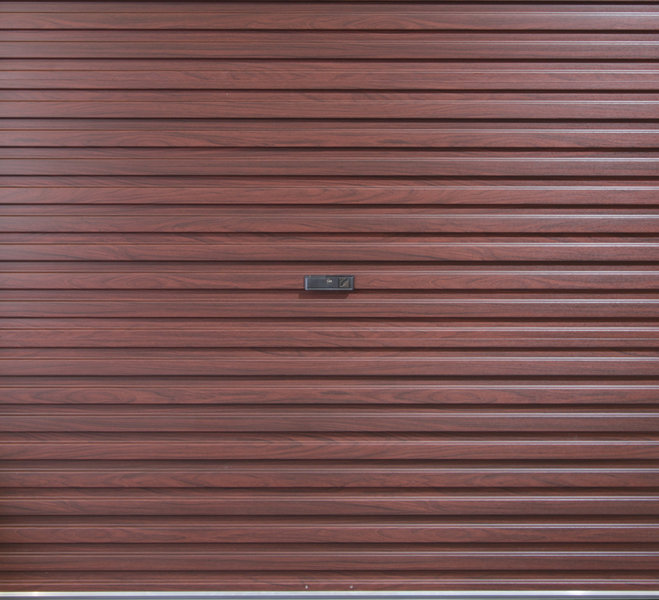 Gliderol Single Skin Roller Door - Laminated Finishes (Manual Opening)