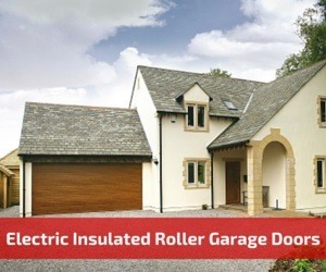 Electric Insulated Roller Garage Doors