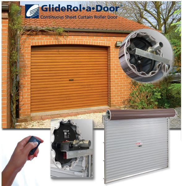 GlideRol-a-Door fitted to residential garage