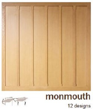 Woodrite Monmouth Wooden Garage Doors