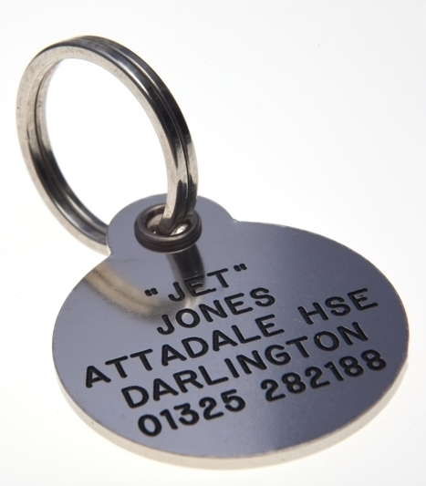 DELUXE Range of Identification Tags - Available in Brass & Silver Nicron