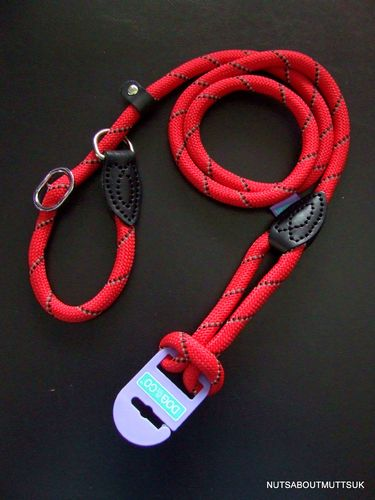 DOG & CO - Night Reflective Mountain Rope SLIP Lead - 150cm (60 inch) x 14mm