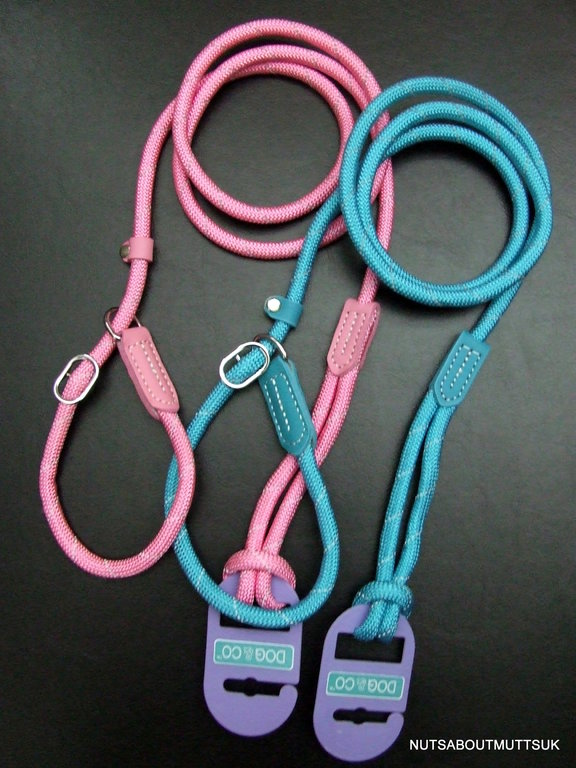 DOG & CO - Night Reflective Mountain Rope SLIP Lead - 150cm (60 inch) x 8mm