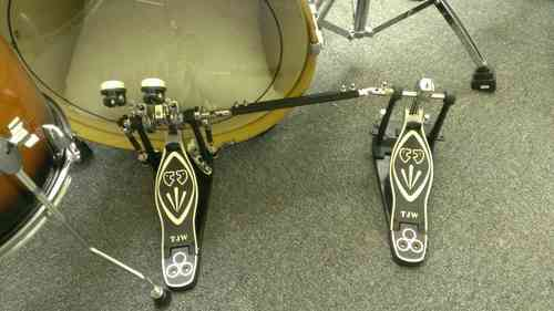Left Hand Double Bass Drum Pedal inc Box