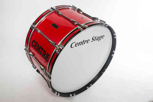 Remo Marching Bass Drum + Carrier