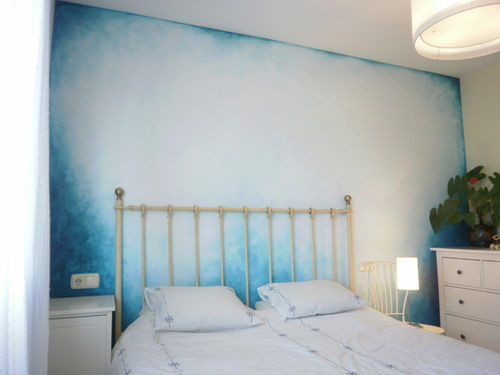 "FEATURE WALL 2 - ""SEA BREEZE"""
