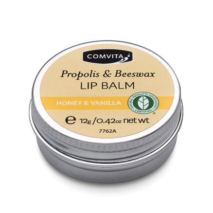 Propolis & Beeswax Lip Balm- Honey & Vanilla