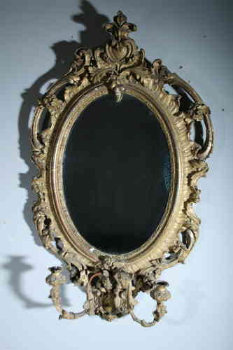 Large Original Giltwood Girondelle Mirror SOLD