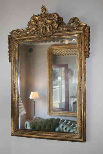 Giltwood mirror SOLD