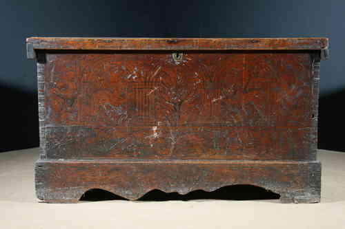 Italian 17th century Cedar Cassonne SOLD