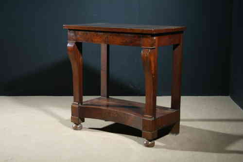 Antique French Walnut Console Table