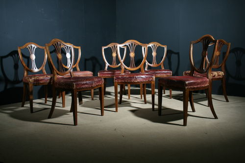 Set of eight 19th century mahogany Dining Chairs SOLD