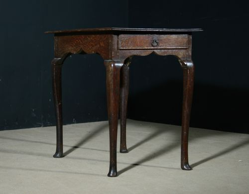 Early 18th Century Oak Sidetable SOLD