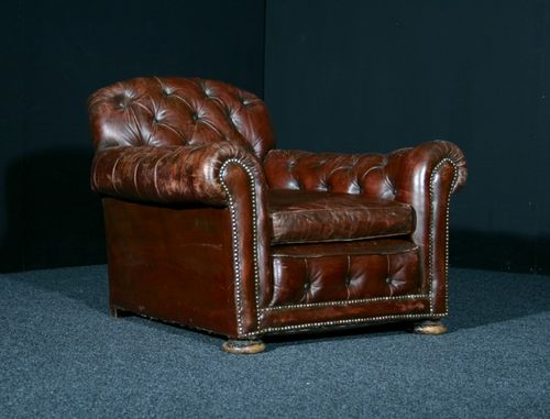 Very Large Edwardian Club Chair SOLD
