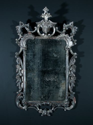 Silver Gilt Chippendale Mirror SOLD