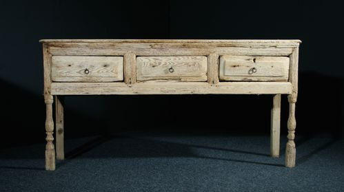 Early Georgian Pine Dresser Base