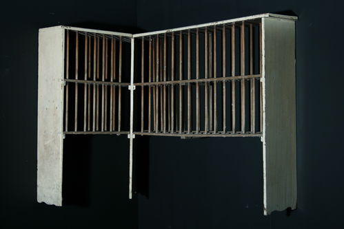Large Early 19th Century Plate Rack SOLD