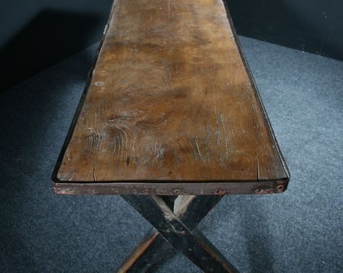 Georgian Westcountry Elm Tavern Table SOLD