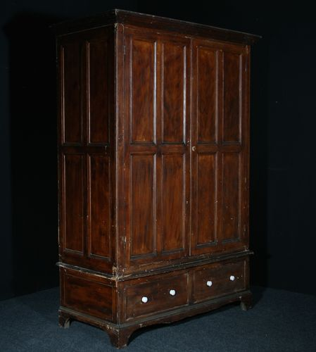 Large Pine Livery Cupboard