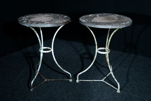 Pair of Conservatory Tables SOLD