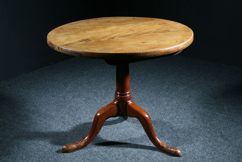 Huge Thick Top Sycamore Table SOLD