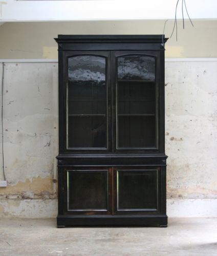 Ebonised Bookcase SOLD