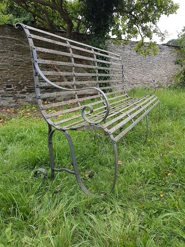 Beautiful Iron Bench SOLD