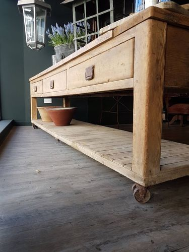 Huge Sycamore Prep Table SOLD