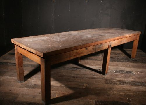 Massive Beech Table SOLD