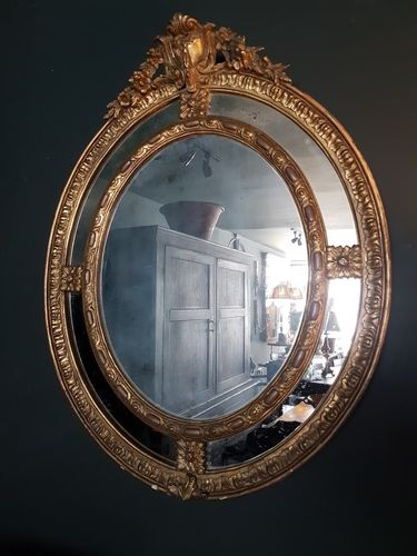 Antique Wall Mirror SOLD