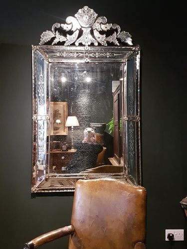 Huge Venetian mirror SOLD