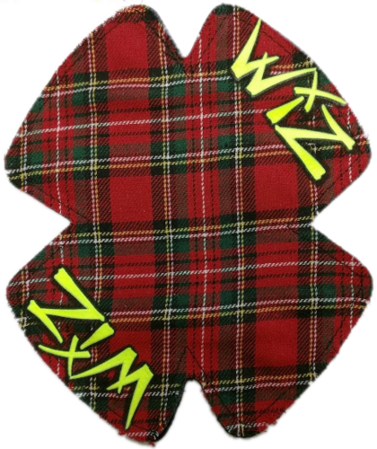 Custom Tartan Backing