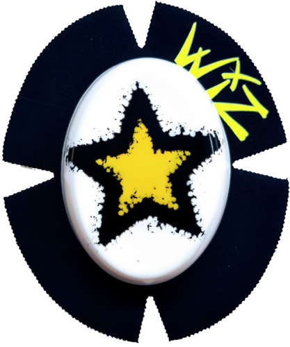 DOUBLE STAR Yell-Blk-Wht
