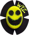 HI VIZ YELLOW Smiley Face