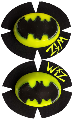 Pair of CLEARANCE Knee Sliders BATMAN