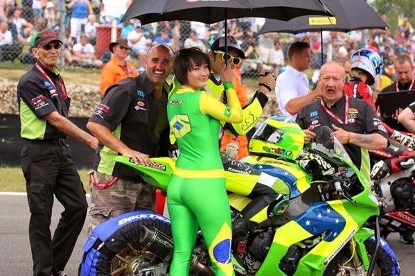 Rhalf Lo Turco and Kirsty Cross at Cadwell Park BSB 2015.\\n\\n31/08/2015 20:09