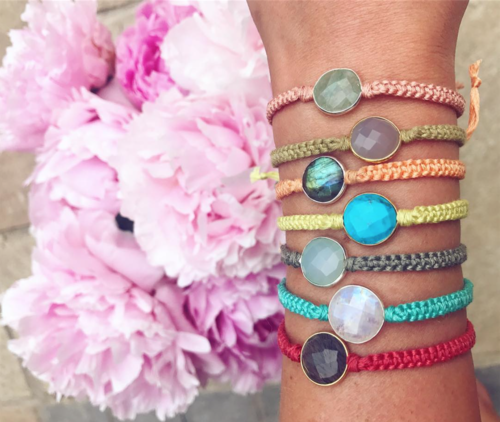Candy Gem Friendship Bracelets