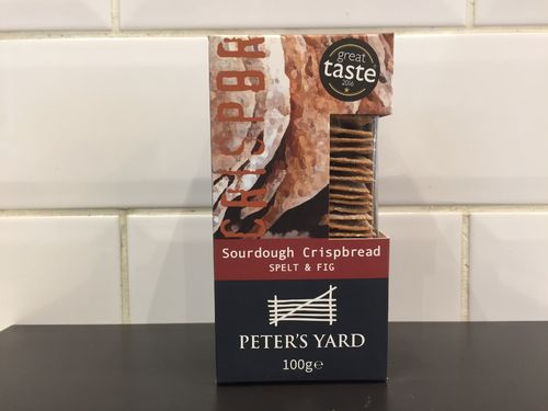 peters yard sourdough spelt & fig crispbread