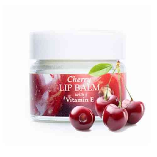 Cherry Lip Balm with Vitamin E by Amphora Aromatics 15ml