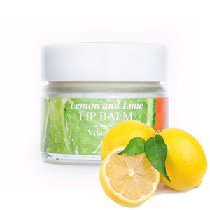 Lemon & Lime Lip Balm with Vitamin E by Amphora Aromatics 15ml
