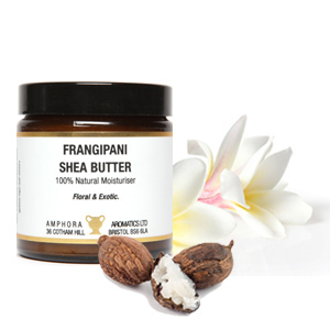 Whipped Frangipani Shea Butter by Amphora Aromatics 120ml