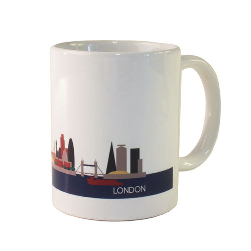 Cityscape London mug