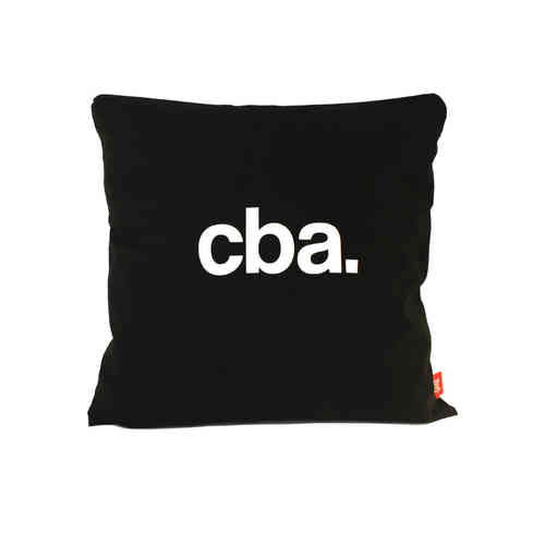 Apathetic Cba cushion