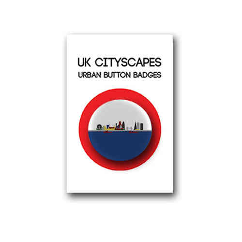 Cityscape London badge individual