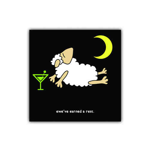 Black sheep card earned a rest (congratulations)