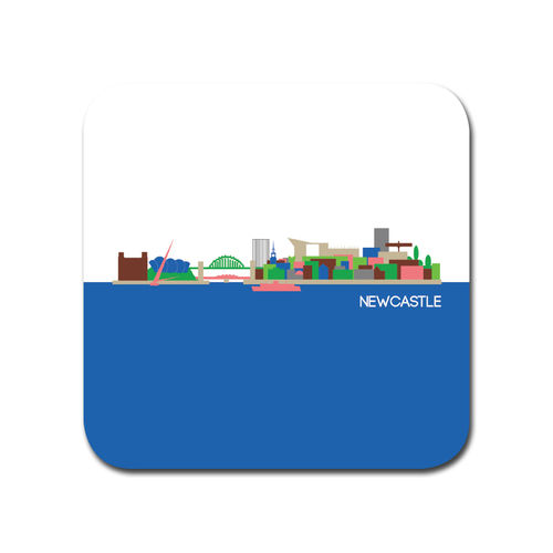 Cityscape Newcastle coaster