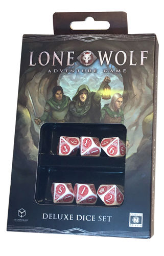 Lone Wolf Adventure Game Deluxe Dice Set