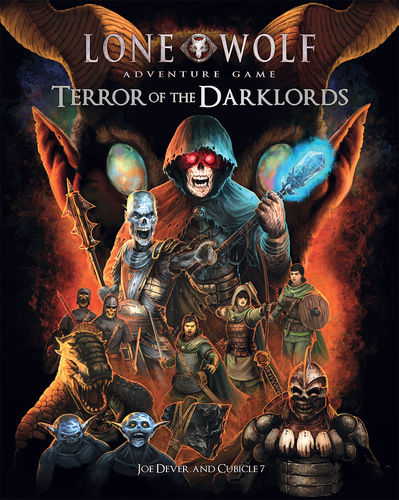 Lone Wolf Adventure Game Terror of the Darklords +PDF