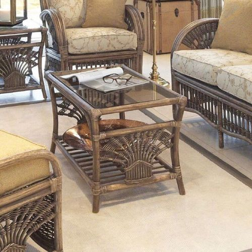 Miami Conservatory Rattan Coffee Table
